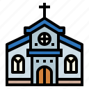 architecture, catholic, church, cultures icon