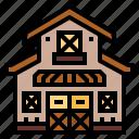 barn, building, farm, gardening
