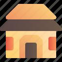 architecture, cottage, house, village