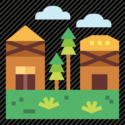 Landscape, nature, scenery, village icon - Download on Iconfinder