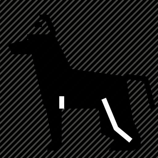 animals, dog, pet, village icon
