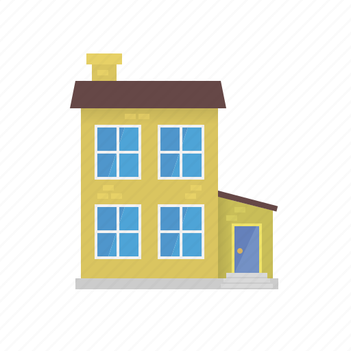 annex, building, facade, house, townhouse, village icon