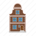 architecture, baroque, building, facade, house, townhouse, village icon