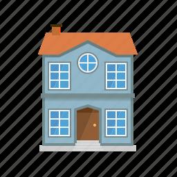building, entrance, facade, home, house, townhouse, village icon