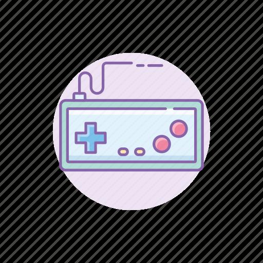 controller, entertainment, gadget, nintendo, retro, snes, tech icon