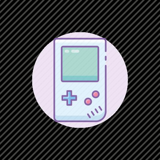 gadget, game, gameboy, handheld, kid, retro, tech icon
