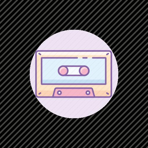 cassette, classic, gadget, music, player, retro, tape icon