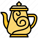 bowl, coffee, jug, pot, tea icon