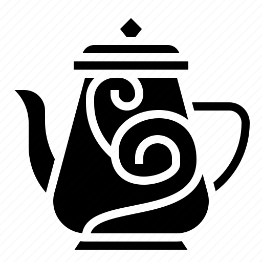 bowl, coffee, jug, pot, tea icon