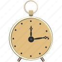 alarm, clock, retro, time, vintage, watch icon
