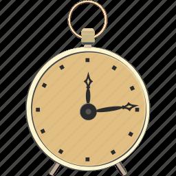 alarm, clock, retro, time, vintage, watch icon