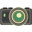 camera, photo, picture, retro, vintage icon