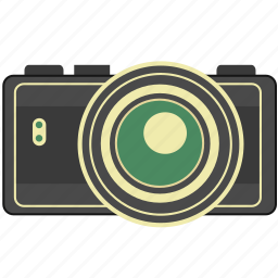 camera, photo, picture, retro, vintage icon