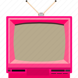 retro, screen, television, tv, vintage icon