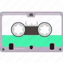cassette, music, retro, sound, vintage icon