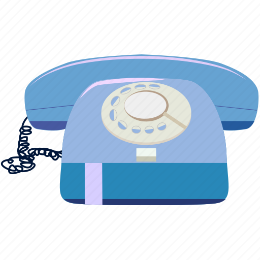 old, phone, retro, telephone, vintage icon