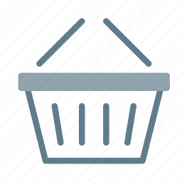 basket, buy, empty, shop, shopping icon