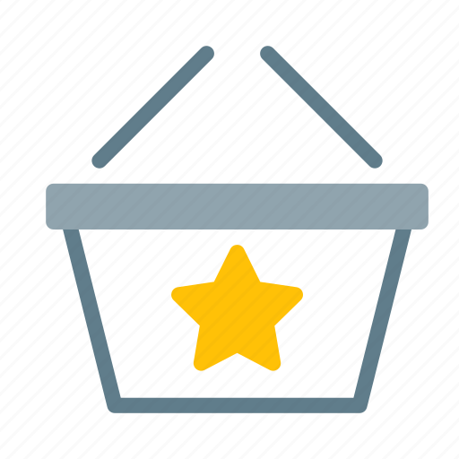 Basket, buy, favorite, shop, shopping, star icon - Download on Iconfinder