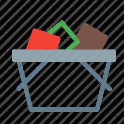 basket, buy, goods, shop, shopping icon