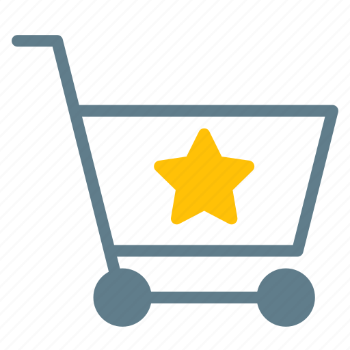Buy, cart, favorite, shopping, star, trolley icon - Download on Iconfinder
