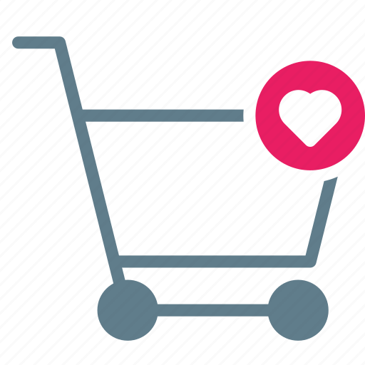 Buy, cart, favorite, heart, shopping, trolley icon - Download on Iconfinder