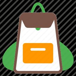 backpack, bag, hiker, ruchsack, travel icon