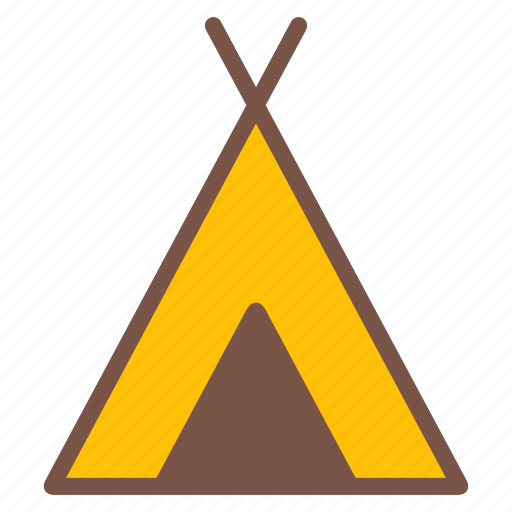 camping, outdoor, shelter, tent, travel icon