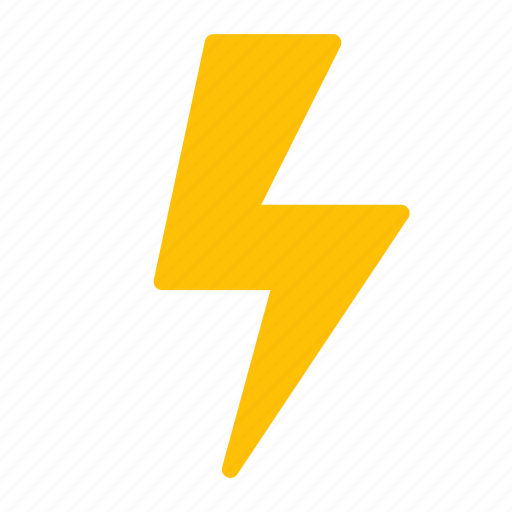energy, forecast, lightning, storm, weather icon