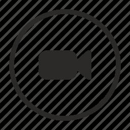 cam, camera, function, mobile, record, video icon