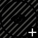 add, biometry, eye, identity, person, view icon