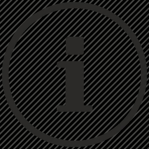 function, help, info, information, message, notice, round icon