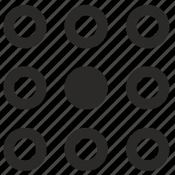 element, list, menu, round, select, selection, ui icon