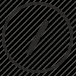 address, enter, mobile, slash, text, url icon