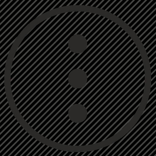 hidden, list, menu, mobile, navigation, vertical icon