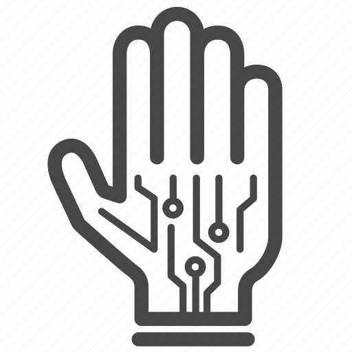 controller, gadget, gaming, glove, technology, virtual reality, vr icon