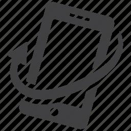 phone, rotate, rotation icon