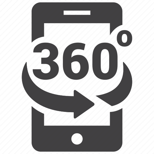 phone, vr icon