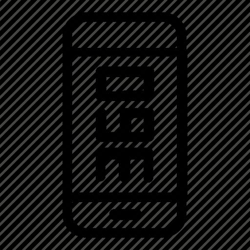 hundred, sixty, smartphone, three icon
