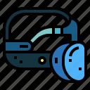 glasses, goggle, technology, vr