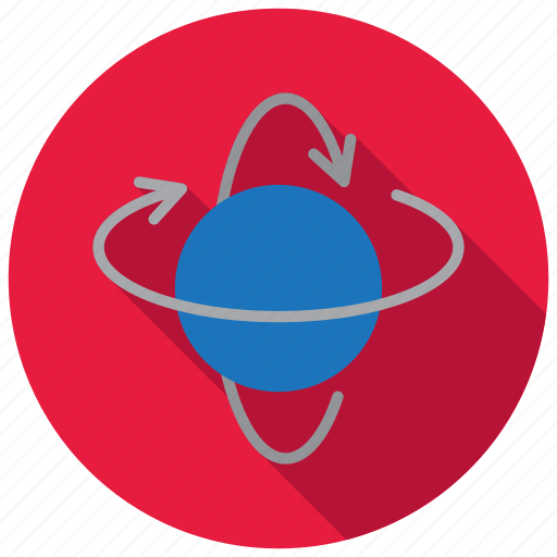3d, object, rotate, rotation icon