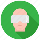eyewear, glasses, goggles, vr icon