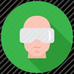 eyewear, glasses, goggles, vr icon