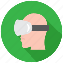 goggles, oculus, vr icon