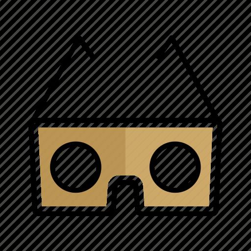 glasses, headset, reality, virtual, vr icon