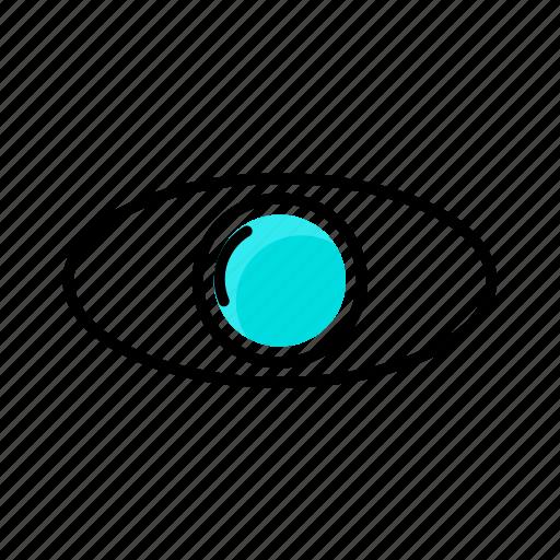 eye, glasses, headset, reality, vr icon