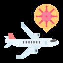 airplane, coronavirus, covid, outbreak, sick, spread, virus