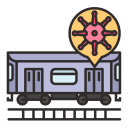 coronavirus, covid, outbreak, sick, subway, train, virus