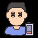 fatigue, healthcare, illness, sickness, tired, tiredness icon
