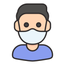 avatar, healthcare, male, mask, medical, user