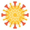 bacteria, corona, disease, science, structure, virus, outbreak icon